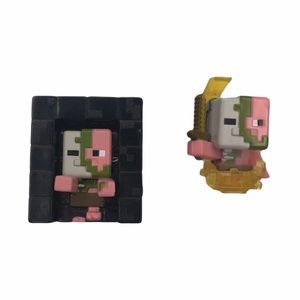 Minecraft Pigman Mini-figures.